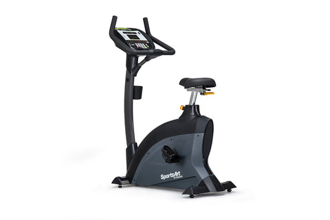 SportsArt C535U Upright Bike w/ LED Display & SA Well+