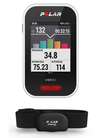Polar V650 GPS Cycling Computer - Completely Fitness