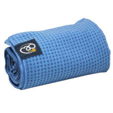 Yoga Mad - Women's Grip Dot Towel - Sky Blue