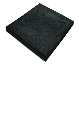 Jordan Fitness - activ flooring 30mm black ramp edge (50cm x 50cm) - Completely Fitness