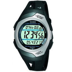 Casio STR300C-1VER Mens Watch with 60 Lap Memory Timer - Completely Fitness