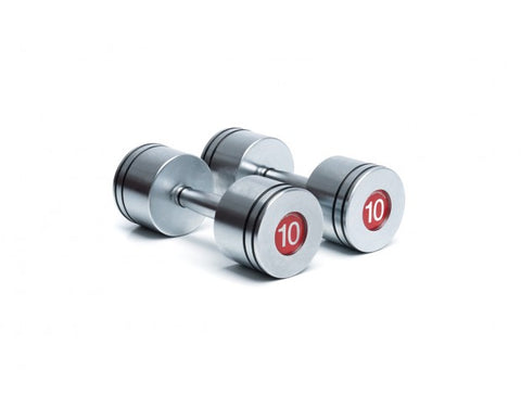 ESD1010 1kg Classic Steel Dumbbell Pair - Completely Fitness