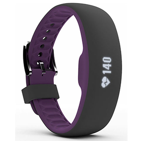 IFAXJSE215 iFit Axis Fitness Tracker Black/Plum small - Completely Fitness