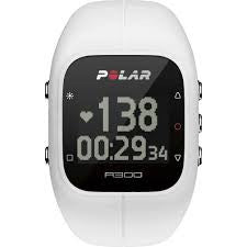 Polar A300 Heart Rate Activity Tracker with HR - White - Completely Fitness