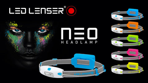 Led Lenser Neo Headlight - ORANGE - Completely Fitness