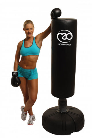 Boxing-Mad Free Standing Punch Bag - Black - Completely Fitness