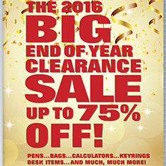 Clearance Promotional Products Catalogue