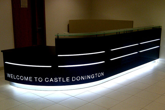 Castle Donnington Reception