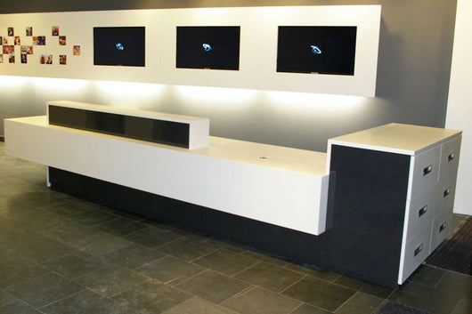 Office Reception Counter Idea 3