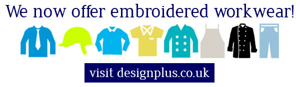 We now offer embroidered workwear