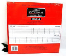 Collins Cathedral Analysis Book 150 Series Ref 150/14.1 and 150/14.2