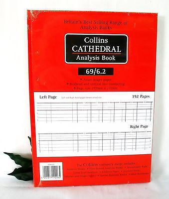 Collins Cathedral Analysis Book 69 Series Ref 69/6.1 and 69/6.2