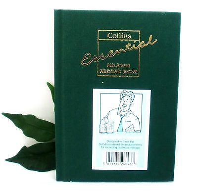 Collins Essential Milege Record Book MRB1 Size A6 Weekly Record up to 56 weeks