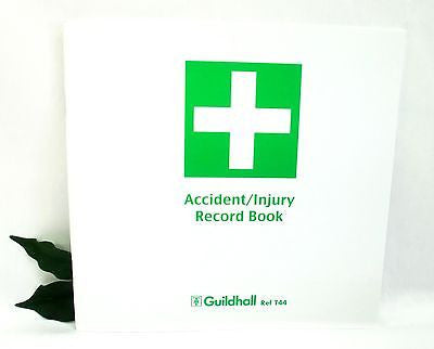 Guildhall Accident Book T44 Accident/Injury Record Book Tollit and Harvey Compliant
