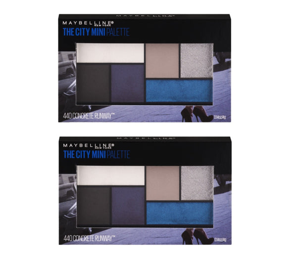 Pack of 2 Maybelline The City Mini Eyeshadow Palette