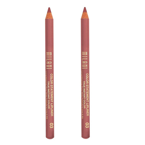 Pack of 2 Milani Color Statement Lipliner, Nude 03