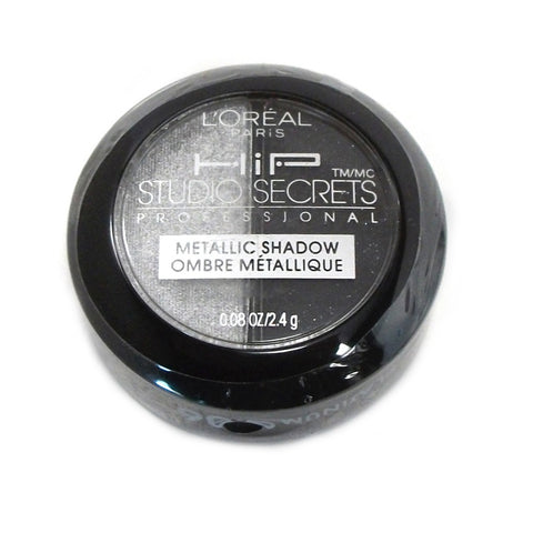 L'Oreal HIP Studio Secrets Professional Metallic Shadow Duo, Platinum 906