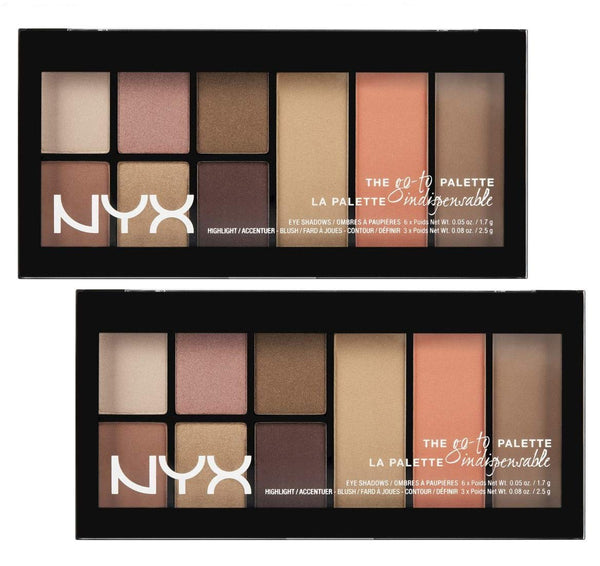 Pack of 2 NYX The Go-To Palette in Wanderlust GTP01