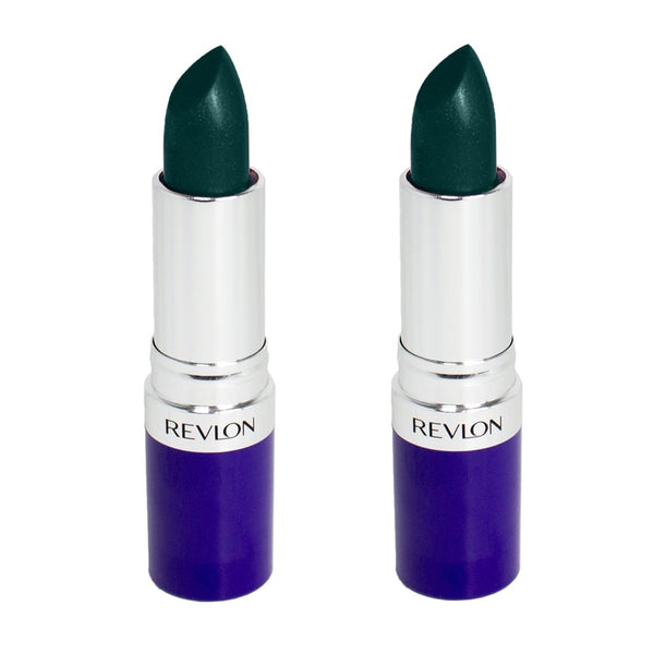 Pack of 2 Revlon Lipstick, Turnt up Teal 112