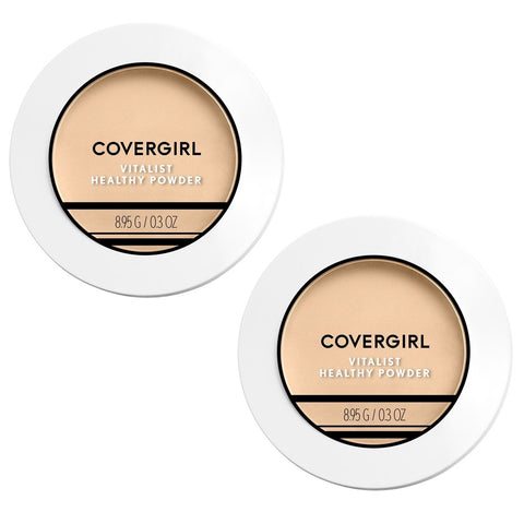 Pack of 2 CoverGirl Vitalist Healthy Powder, Classic Ivory 710