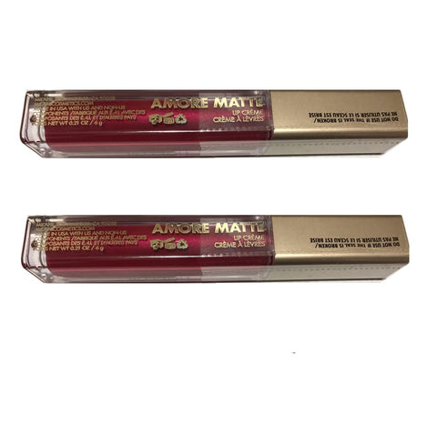 Pack of 2 Milani Amore Matte Lip Creme, Mattely In Love 06