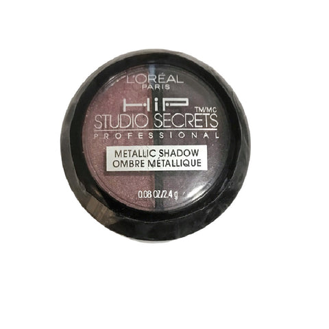 L'Oreal Paris HIP Studio Secrets Professional Metallic Shadow Duo, Sculpted 106