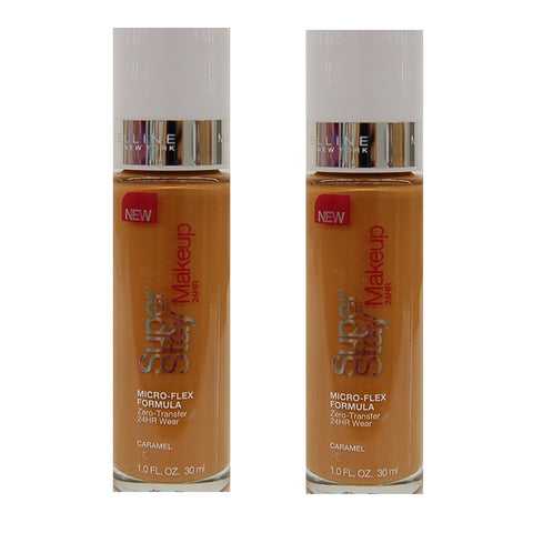 Pack of 2 Maybelline SuperStay 24 Hr Wear Makeup, Caramel