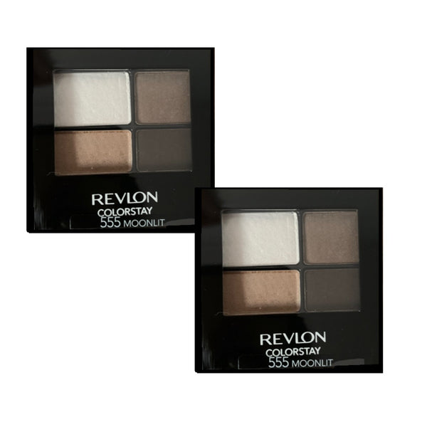 Pack of 2 Revlon ColorStay 16 Hour Eye Shadow, Moonlit 555