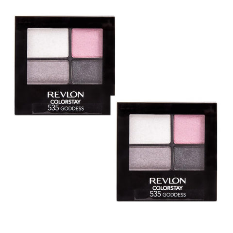 Pack of 2 Revlon ColorStay 16 Hour Eye Shadow, Goddess 535