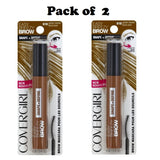 Pack of 2 CoverGirl Easy Breezy Brow Shape & Define Mascara, Golden Blonde 618