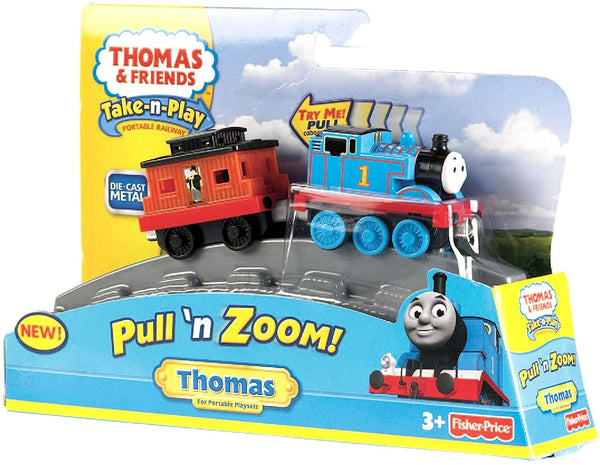 Fisher-Price Thomas & Friends Take-n-Play, Pull 'n Zoom - Thomas