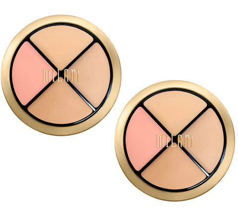 Pack of 2 Milani Conceal + Perfect All-in-One Concealer Kit, Fair To Light 01