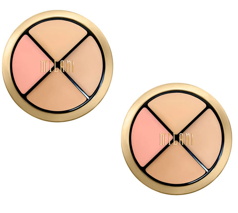 Pack of 2 Milani Conceal + Perfect All-in-One Concealer Kit, Light to Medium 02
