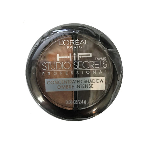 L'Oreal HIP Studio Secrets Concentrated Eye Shadow Duo, Saucy 818