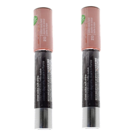 Pack of 2 CoverGirl Lipperfection Jumbo Gloss Balm, Cotton Candy Twist 213