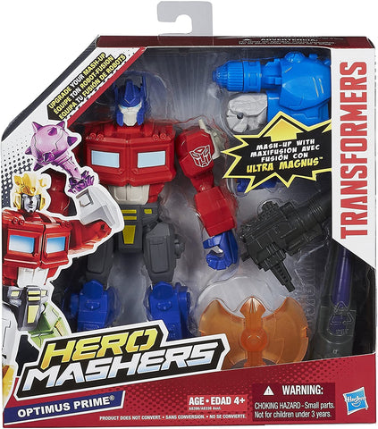 Transformers Hero Mashers Optimus Prime Figure