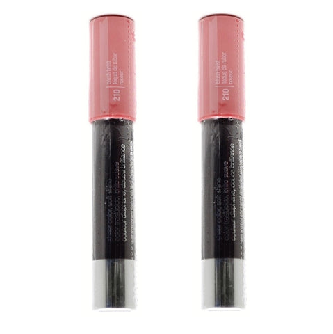 Pack of 2 Covergirl Lipperfection Jumbo Gloss Balm, 210 Blush Twist