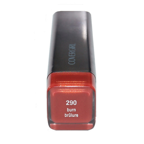 CoverGirl Lip Perfection Lipstick, Burn 290
