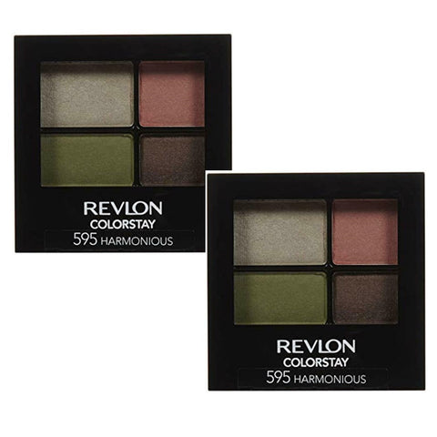 Pack of 2 Revlon ColorStay 16 Hour Eye Shadow, Harmonious 595