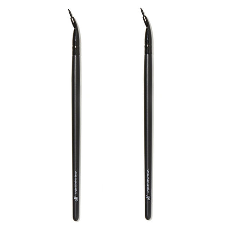 Pack of 2 e.l.f. Angled Eyeliner Brush, 84013