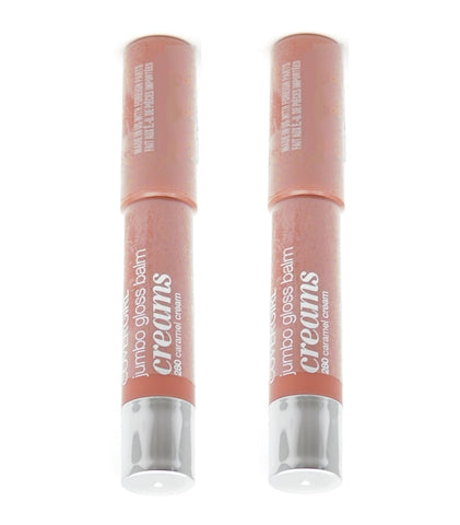 Pack of 2 Covergirl Jumbo Gloss Balm Creams, 280 Caramel Cream