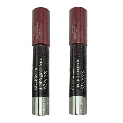 Pack of 2 Covergirl Lipperfection Jumbo Gloss Balm, Rose Twist 225