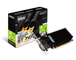 MSI GeForce GT 710 2GB GDDR3 Graphics Card