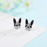 Stud Earrings French Bulldog