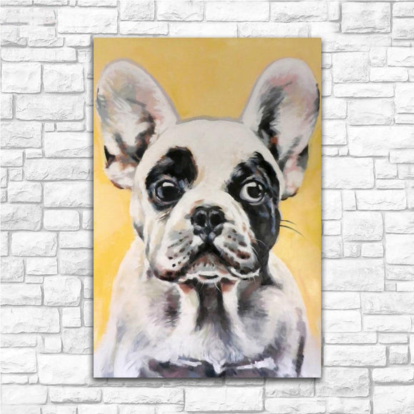 French Bulldog Canvas Print Wall Art Home Decor Living Room Painting