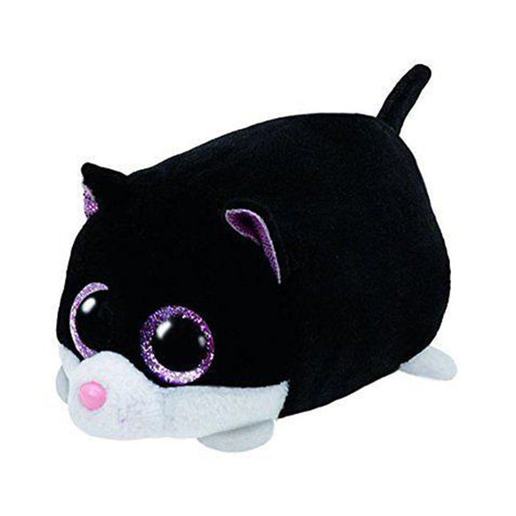 Plush Toy Black & White Cat