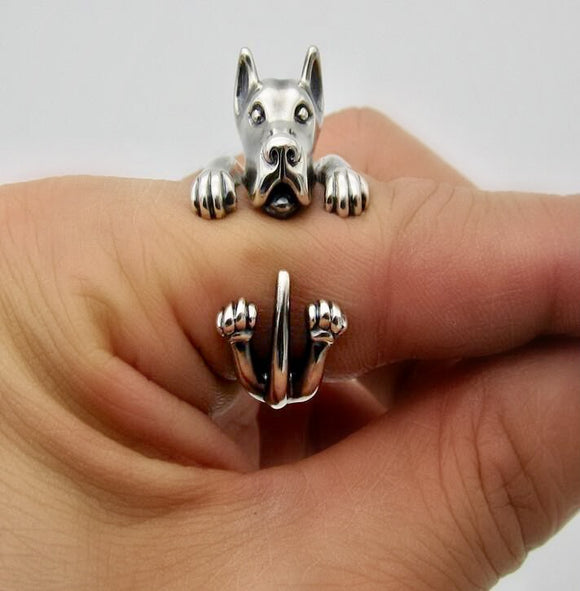 Adjustable Great Dane Ring
