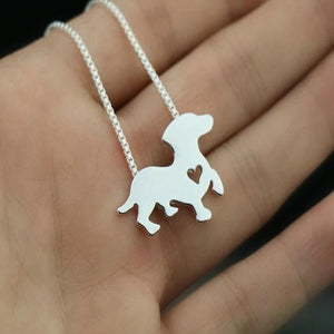 Necklace With Dachshund Pendant
