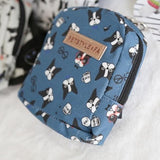 Backpack With Harness For Dogs French Bulldog Design Carrier Bag