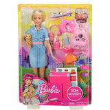 Barbie And Dog Travel Set Toys